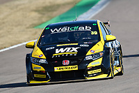 #39 Brett Smith WIX Racing with Eurotech Honda Civic Type R (FK2) during BTCC Practice  as part of the Dunlop MSA British Touring Car Championship - Rockingham 2018 at Rockingham, Corby, Northamptonshire, United Kingdom. August 11 2018. World Copyright Peter Taylor/PSP. Copy of publication required for printed pictures.