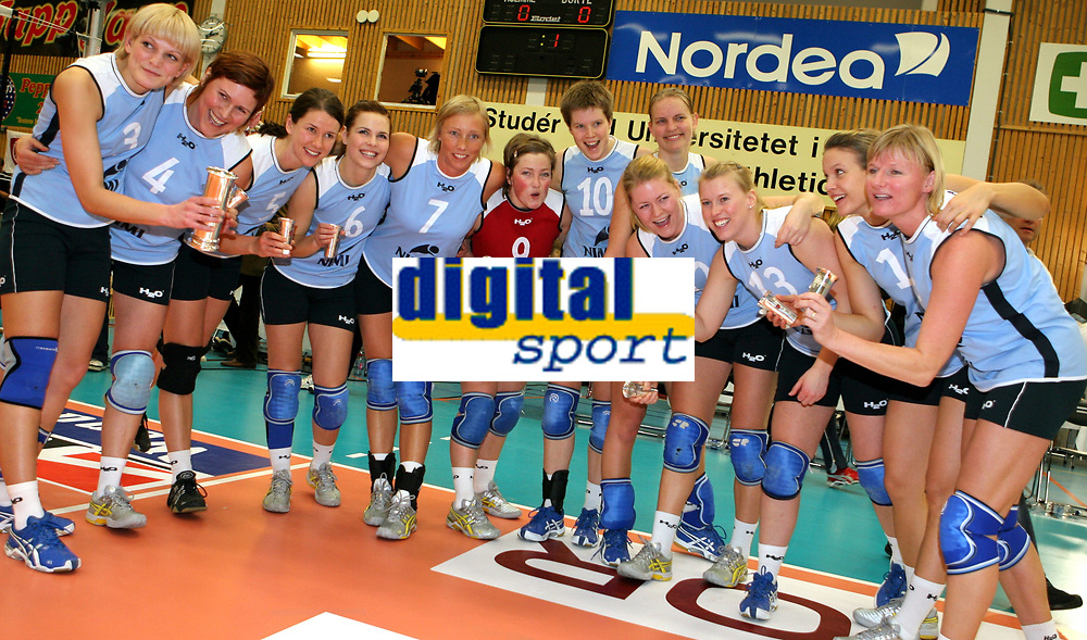 Volleyball , 6. janaur 2007 , NM-finale , Koll - BSI , <br /> Koll tok Kogepokalen og ble norgesmester