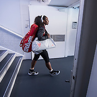 Serena Williams of the United States on day eleven of the 2017 Australian Open at Melbourne Park on January 26, 2017 in Melbourne, Australia.<br /> (Ben Solomon/Tennis Australia)