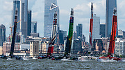. Race Day 2 Event 3 Season 1 SailGP event in New York City, New York, United States. 22 June 2019. Photo: Drew Malcolm for SailGP. Handout image supplied by SailGP