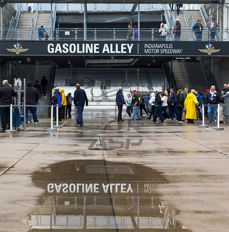 indianapolis, IN - May 16, 2014:  The Indianapolis Motor Speedway plays host to the Indianapolis 500 at Indianapolis Motor Speedway in indianapolis, IN.