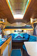 The Amazing Mysterium Tiny House Interior at Caravan, the Tiny House Hotel, Portland, OR, USA