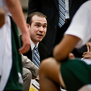 Jan. 19, 2009 - Bronx, NY : MANHATTAN COLLEGE COACH - Manhattan College Men's Basketball assistant coach John Alesi during Monday's matchup between the Jaspers and the St. Peters Peacocks.