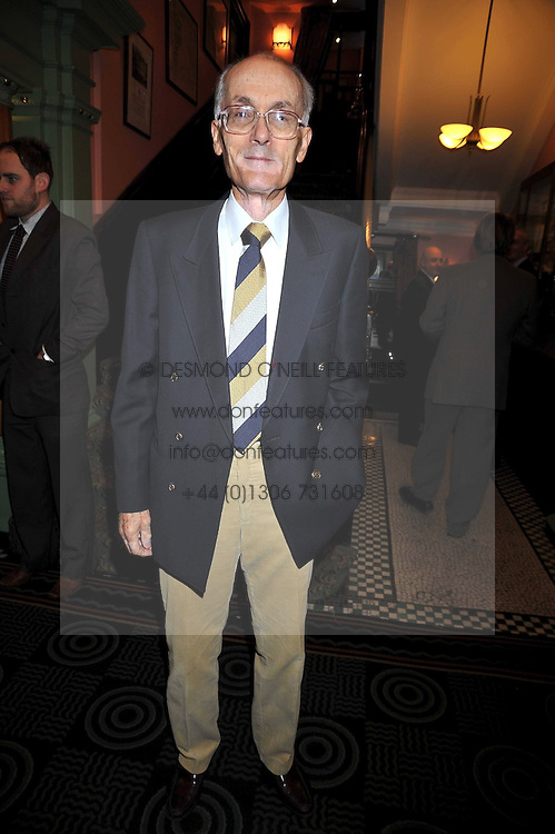 Triple Olympian PETER HILDRETH at the 2009 Oldie of The Year Award lunch held at Simpson's in The Strand, London on 24th February 2009.