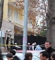 FEB 01 2013 Explosion outside the US Embassy, Ankara