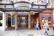 The Corridor shopping arcade, Bath, England built in 1825d