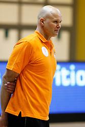 27-02-2012 VOLLEYBAL: BELGIE SCHELDE - NATIE PRECURA ANTWERPEN - EUPHONY ASSE LENNIK : ANTWERPEN<br /> Marko Klok, headcoach of Euphony Asse - Lennik<br /> &copy;2013-FotoHoogendoorn.nl / Pim Waslander