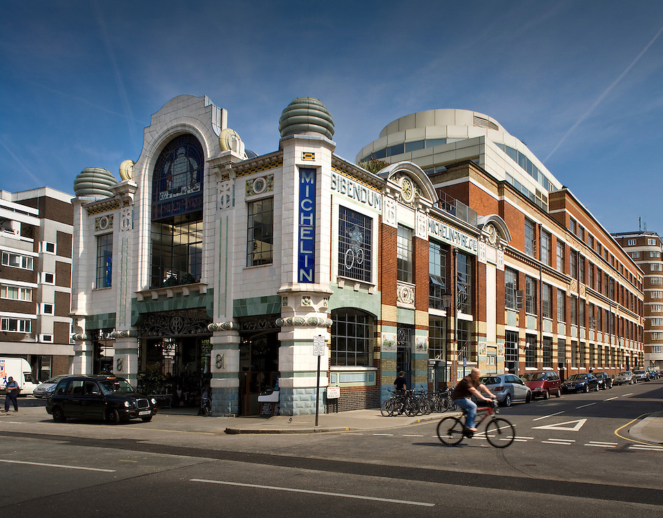 andy spain architectural photography michelin building london