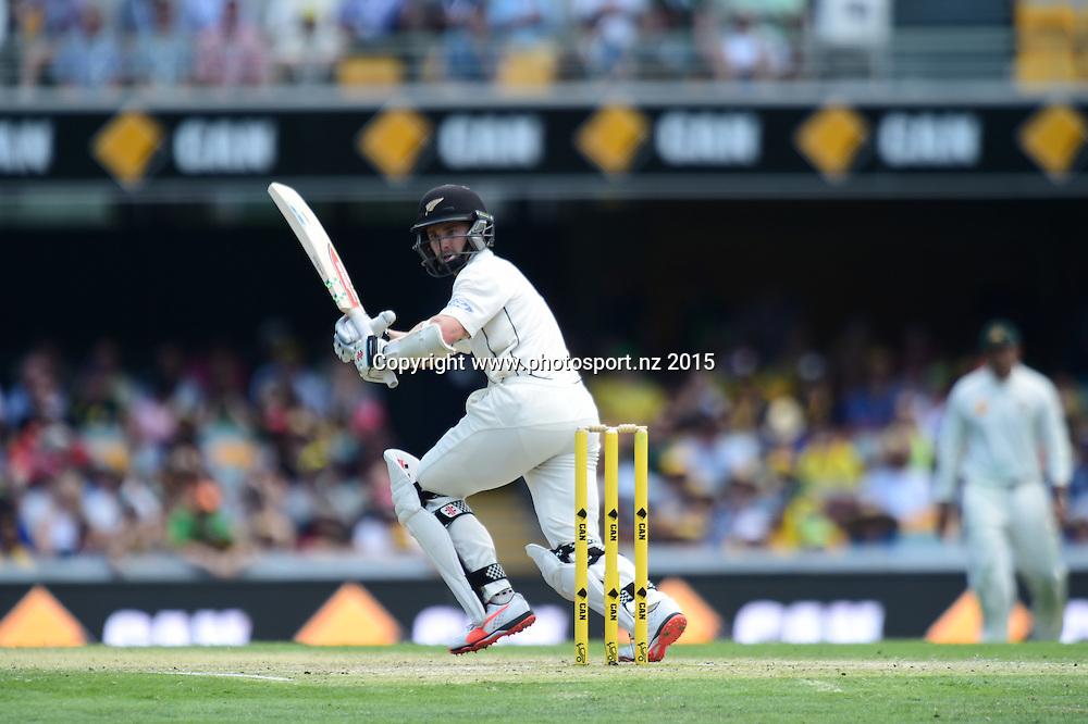 Kane Williamson. Day Three, 7 November 2015. New Zealand Black Caps tour of Australia, 1st test at Brisbane 5-9 November 2015. Copyright photo: www.photosport.nz