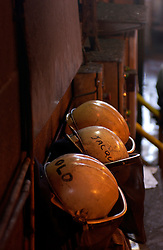 SERAING, BELGIUM - APRIL-23-2005 - Fifty years ago Liege, Belgium was at the epicenter of Europe's steel industry. But as new, cleaner and less expensive technologies emerge the old ways of doing things slowly die out. Such is the case at the Arcelor steel mill in the village of Seraing, Belgium just outside of Liege. After 50 years of service, blast furnace number 6 at the Arcelor steel plant was permanently shutdown on Tuesday April 26, 2005. The last remaining blast furnace at the plant will be closed in 2009, marking the end of an era in Europe's steel industry. For the workers, this means either being re-assigned or re-trained and some will be asked to take early retirement. Since the laws protecting workers are much stronger in Europe than in the U.S. - it is usually less expensive for a company to re-train workers rather than terminating their employment.