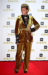 Gemma Cairney attending the BBC Music Awards at the Royal Victoria Dock, London.