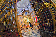 Alberto Carrera, Interior View, Cathedral of Cuenca, Catedral de Santa Mar&iacute;a y San Juli&aacute;n de Cuenca, Basilica of Our Lady of Grace, Bas&iacute;lica de Nuestra Se&ntilde;ora de Gracia, Gothic Cathedral, Cuenca, Castilla y Le&oacute;n, Spain, Europe<br />