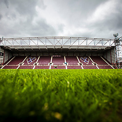 Tynecastle Stadium, home of Hearts FC.