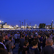 The crowd watches as Mavis Staples performs Friday, Sept. 6, 2013 at Hideout Block Party. (Brian Cassella/Chicago Tribune) B583175602Z.1 <br /> ....OUTSIDE TRIBUNE CO.- NO MAGS,  NO SALES, NO INTERNET, NO TV, CHICAGO OUT, NO DIGITAL MANIPULATION...
