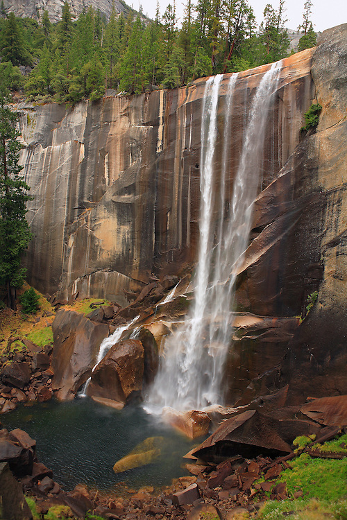 Vernal Falls - Autumn - Yosemite