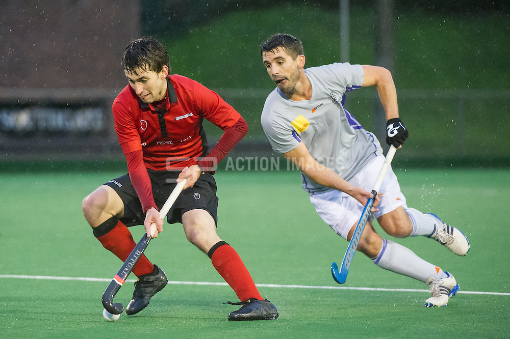 Southgate v Sevenoaks - Men's Hockey League, East Conference, Trent Park, London, UK on 06 November 2016. Photo: Simon Parker
