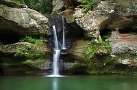 Old Man's Cave Upper Falls, Hocking Hills State Park Ohio
