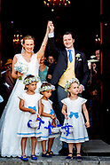wedding of  in mallorca Wedding of Prince Joachim Albrecht von Preussen and Countess Angelina.
