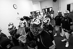 26 May 2007: Duke Blue Devils defenseman Parker McGee in the locker room before the NCAA semifinals to take on the Cornell Big Red at M&T Bank Stadium in Baltimore, MD.