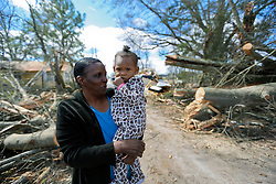 24 February 2016. Water tower Street, Convent, Louisiana.<br />
