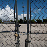 MIAMI, FLORIDA, JUNE 28, 2017<br /> Lot where the proposed new soccer stadium is planned for the David Beckham group in a nearby in Overtown. <br /> (Photo by Angel Valentin/Freelance)