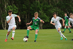 Republic of Ireland v Northern Ireland U16 Uefa development tournament United Park Westport.<br /> Pic Conor McKeown