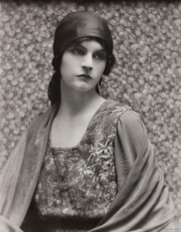 Sylvia Gough, model, England, 1916