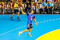 Kentin Mahe - 03.05.2015 - France / Macedoine - Qualifications Championnats d'Europe -Toulouse<br />Photo : Manuel Blondeau / Icon Sport