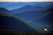 Image of the rolling hills of the Berkshires, Massachusetts, New England