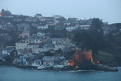UK ENGLAND FOWEY 19FEB15 - General view of Fowey, Cornwall, England. Fowey, a small fishing and harbour village was the living place of famous English writer Daphne Du Maurier and many of her novels are based here.<br /> <br /> jre/Photo by Jiri Rezac<br /> <br /> © Jiri Rezac 2015