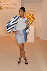 TOLULA ADEYEMI at the Masterpiece Marie Curie Party supported by Jeager-LeCoultre held at the South Grounds of The Royal Hospital Chelsea, London on 30th June 2014.