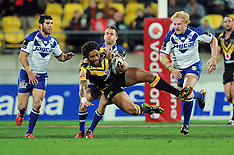 Wellington-Rugby League, NRL, Warriors v Bulldogs, May 11