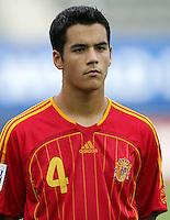 Fussball International U17 WM Korea  Honduras - Spanien Honduras - Spain David Rochela (ESP)