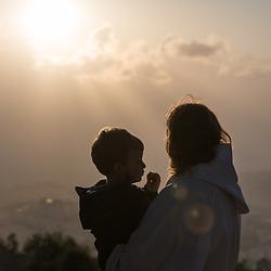 Easter sunrise service, Jerusalem 2019
