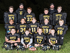 2016 Gibsonville Yellow Jackets 10 & Under Football Team Pictures