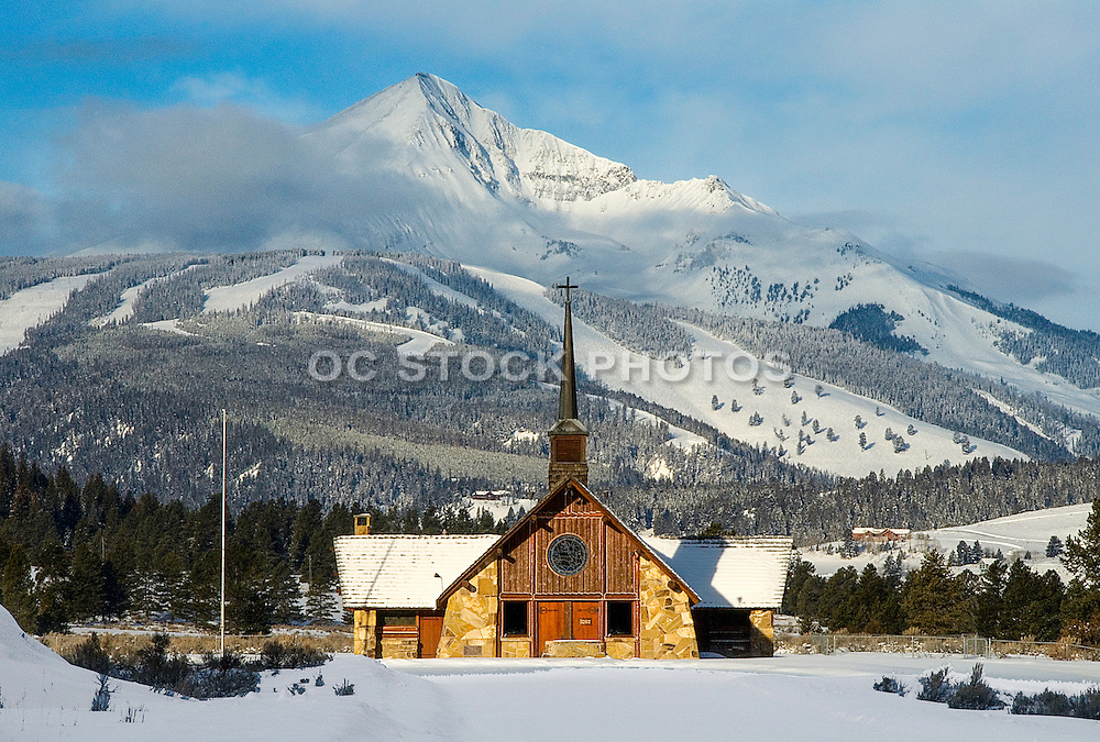 Winter Snow at Yellowstone National Park