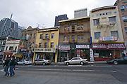 San Francisco California USA, California Chine town in downtown SF