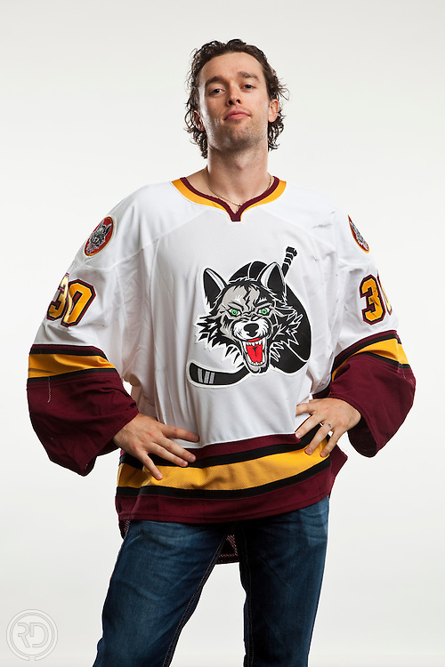 Drew MacIntyre of the Chicago Wolves<br /> <br /> Mandatory Photo Credit: Ross Dettman/Chicago Wolves