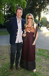 Handbag designer ANYA HINDMARSH and her husband JAMES SEYMOUR at the Concervative Party Summer Party held in the gardnes of The Royal Hospital, Chelsea, London on 3rd July 2006.<br /><br />NON EXCLUSIVE - WORLD RIGHTS