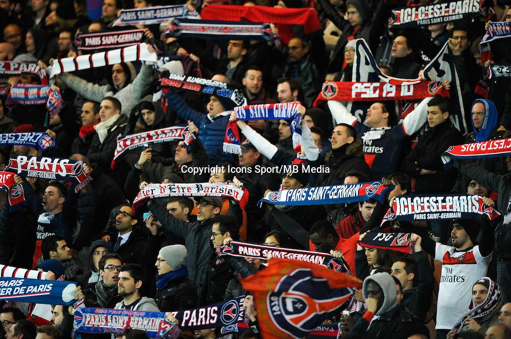 Supporters PSG - 04.03.2015 - PSG / Monaco - 1/4Finale Coupe de France<br /> Photo : Andre Ferreira / Icon Sport