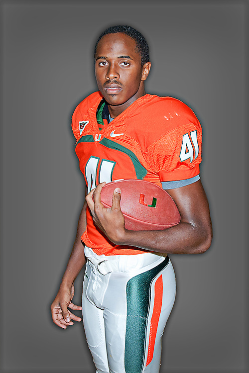 2011 Miami Hurricanes Football Photo Day
