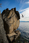 Cliff Diving Travis Simms