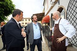 CARNI RIZZIERI FOCOMORTO<br /> VISITA MINISTRO GIAN MARCO CENTINAIO A FERRARA