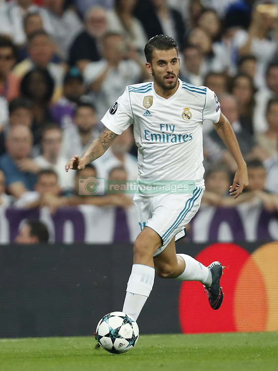 Dani Ceballos of Real Madrid during the UEFA Champions League group H match between Real Madrid and APOEL FC on September 13, 2017 at the Santiago Bernabeu stadium in Madrid, Spain.