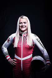 12.10.2019, Olympiahalle, Innsbruck, AUT, FIS Weltcup Ski Alpin, im Bild Katharina Truppe // during Outfitting of the Ski Austria Winter Collection and the official Austrian Ski Federation 2019/ 2020 Portrait Session at the Olympiahalle in Innsbruck, Austria on 2019/10/12. EXPA Pictures © 2020, PhotoCredit: EXPA/ JFK