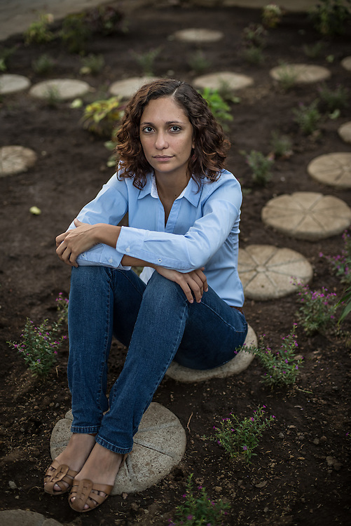 Monica López Baltodano is a lawyer who does not agree with the way the Nicaragua canal is being handled. Photo: Meridith Kohut for Der Spiegel