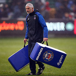 Todd Blackadder (Director of Rugby) of Bath Rugby during the Gallagher Premiership match between Bath Rugby and Sale Sharks at the The Recreation Ground Bath England.2nd December 2018,(Photo by Steve Haag Sports)