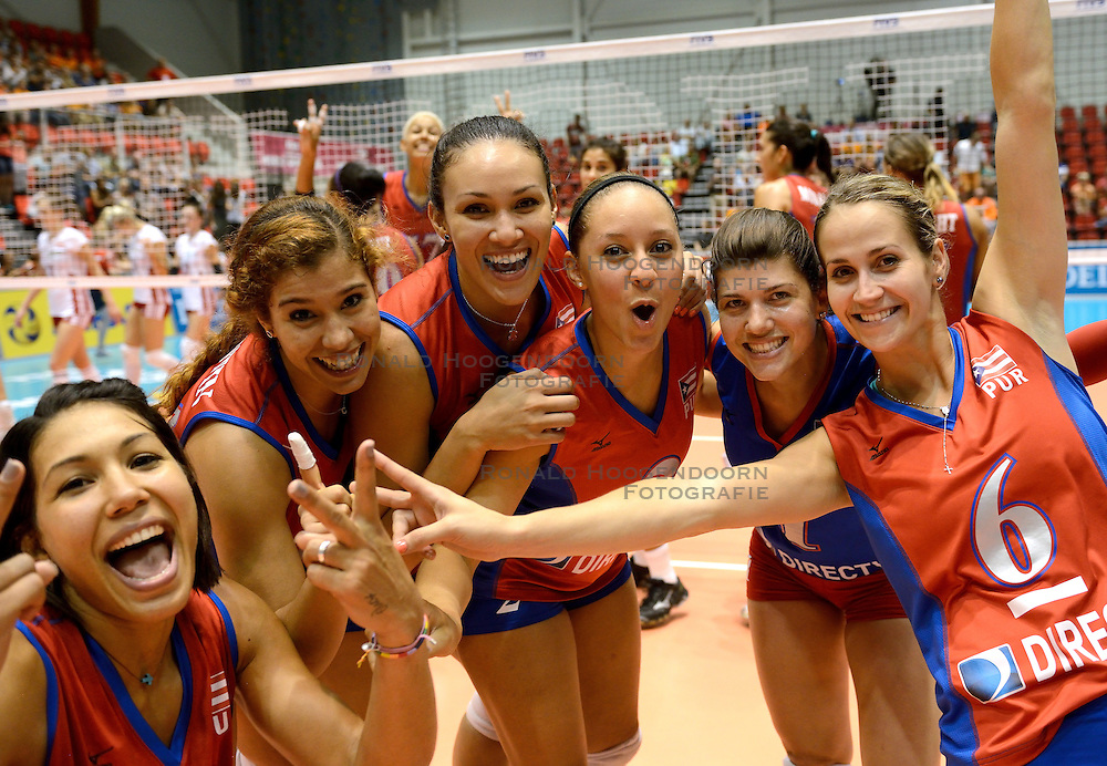 09-08-2014 NED: FIVB Grand Prix Puerto Rico - Polen, Doetinchem