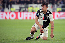 May 19, 2019 - Turin, Turin, Italy - Paulo Dybala #10 of Juventus FC reacts to a missed chance during the serie A match between Juventus FC and Atalanta BC at Allianz Stadium on May 19, 2019 in Turin, Italy. (Credit Image: © Giuseppe Cottini/NurPhoto via ZUMA Press)