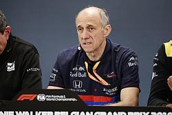August 30, 2019, Spa-Francorchamps, Belgium: Motorsports: FIA Formula One World Championship 2019, Grand Prix of Belgium, ..Franz Tost (AUT, Red Bull Toro Rosso Honda) (Credit Image: © Hoch Zwei via ZUMA Wire)
